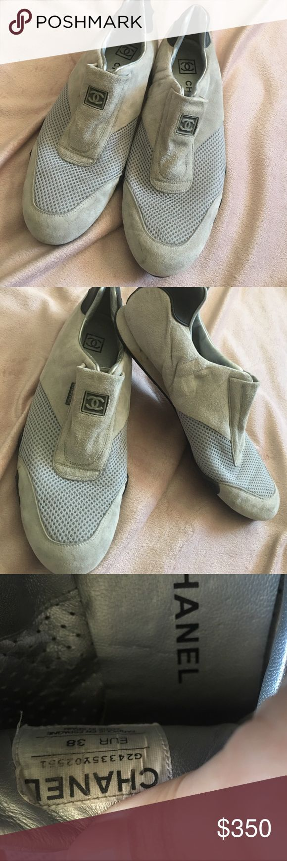 Chanel tennis shoes Used Chanel shoes..No dust bag or box available CHANEL Shoes Sneakers
