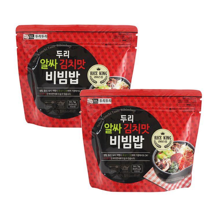 Easy cook Korean food Instant kimchi taste bibimbap MRE Just pour hot water *2EA | Home & Garden, Food & Beverages, International Foods | eBay!
