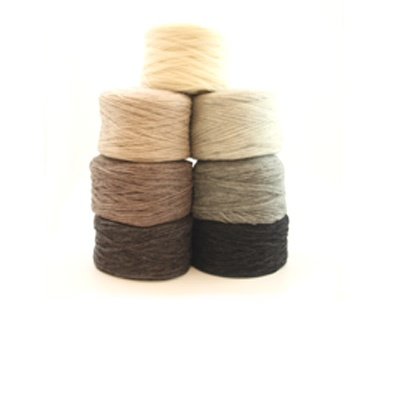 Unspun yarn by Hifa, ull.no. Lovely for hats and mittens, also good to use together with other yarns.