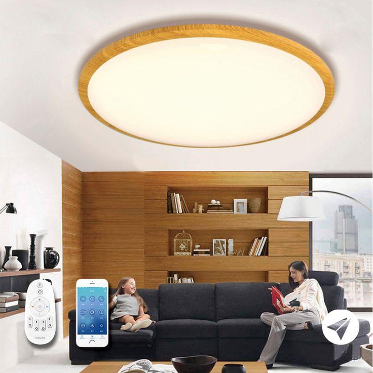 Jiawen Zigbee Ceiling Light, smart bulb, wireless bulb, app control, remote control, work with zigbee hub , free shipment #Affiliate