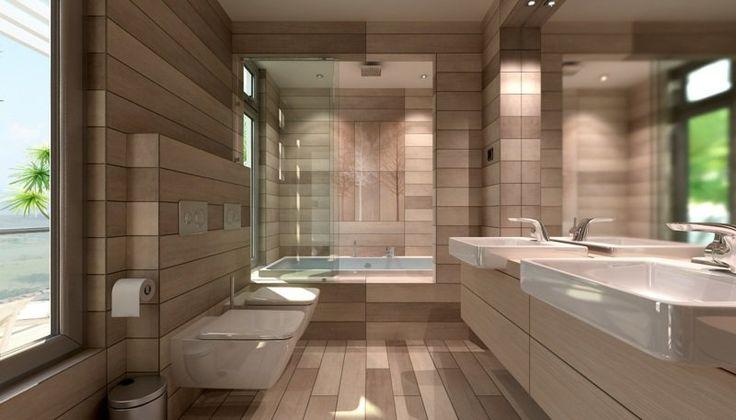 Petite baignoire salle de bain pinterest petite salle petites salles de bain et for Carrelage petite salle de bain