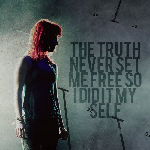 careful, didi it myself, hayley williams, paramore, set me free - inspiring picture on Favim.com on we heart it / visual bookmark #53637369