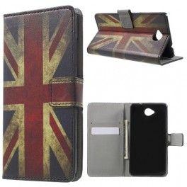 Lumia 650 Iso-Britannian lippu puhelinlompakko.