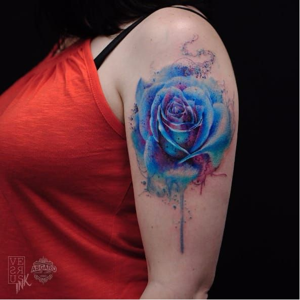 To symbolize wayden (his birth month flower/color)
