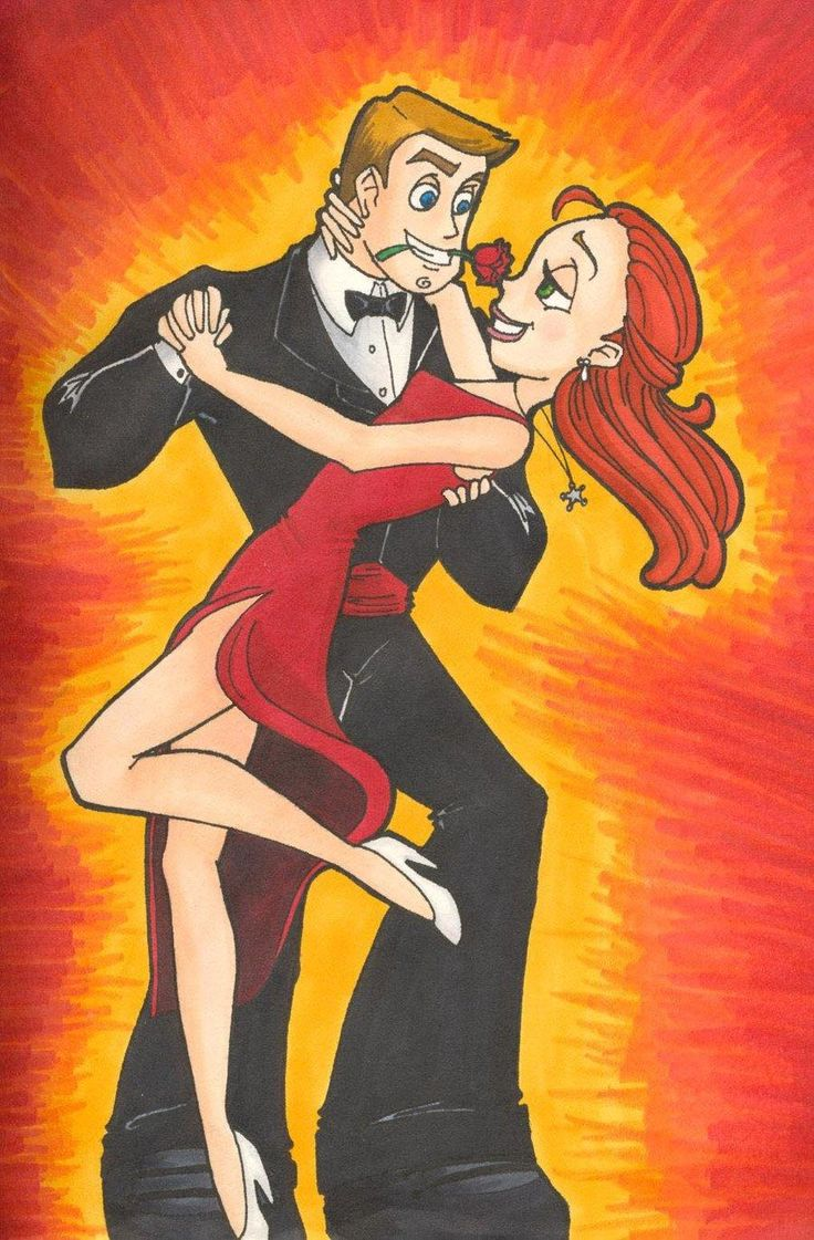 Buzz And Jessie In Spanish Dancing Of Tango After All