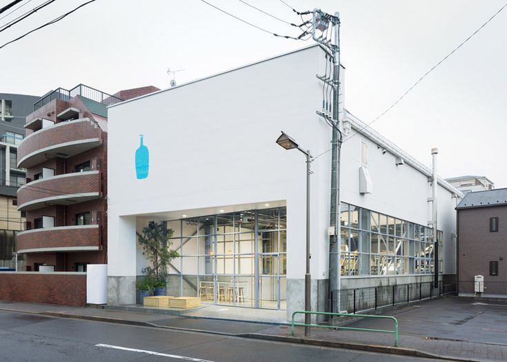 Schemata Architects inserts a coffee shop into a Tokyo warehouse.
