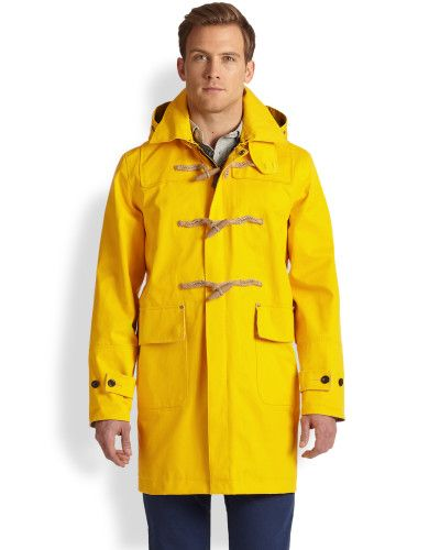 ralph lauren toggle raincoat for men, darn, that's exactly what I want for women
