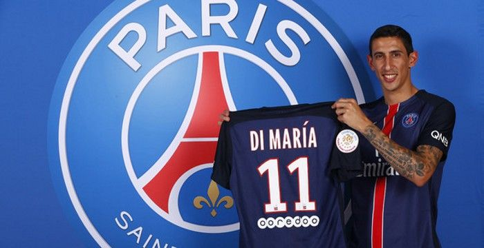 Di María es el jugador que más dinero movió entre transferencias