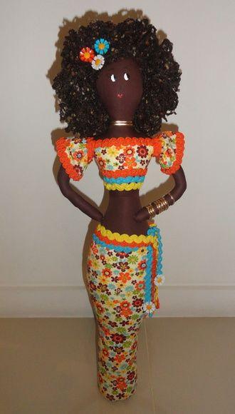 Bonecas AFRO - Africanas