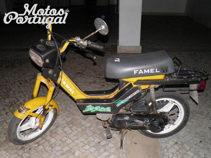 vintage Famel Brave moped (made in Portugal)