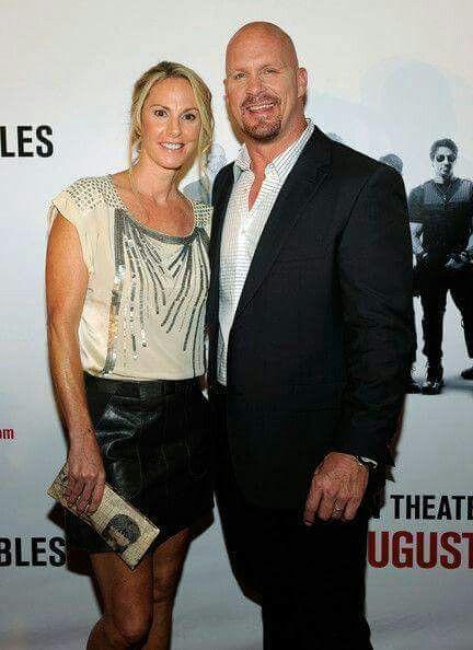 Steve Austin & Is Wife