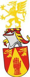 SV-54 Göran Heckler, Malmö  Registrerat 2009-02-17.  (Ansökan 2007:79)     Sköld: I rött en spets av guld belagd med en röd stridshandske och ovan åtföljd av två avslitna griphuvuden av guld.     Hjälmtäcke: Rött fodrat med guld.     Hjälmprydnad: En grip av guld med röd beväring.