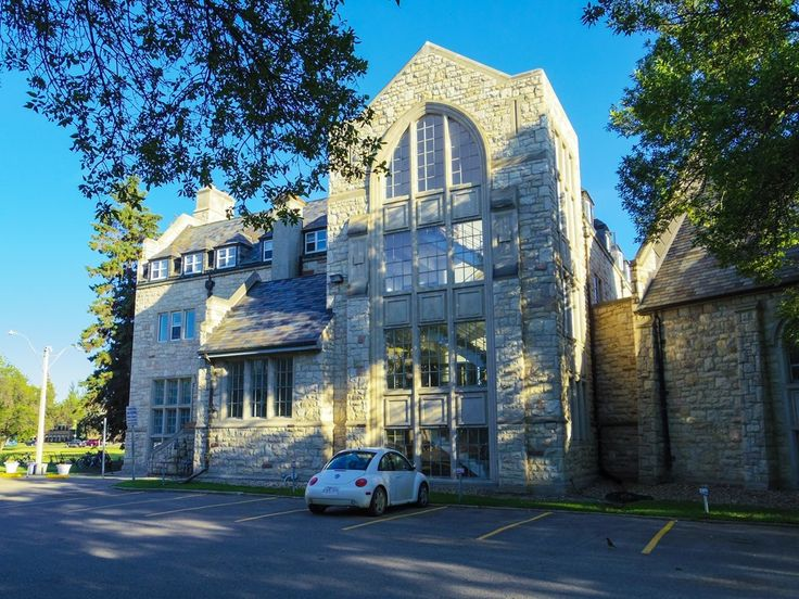 St. Andrew's College in Saskatoon.  One of the best looking buildings on the University of Saskatchewan campus.