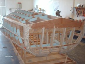 Classic Wooden Boat Plans » Riva Aquarama Full Size Lofted Plans  Now YOU Can Build Your Dream Boat With Over 500 Boat Plans!