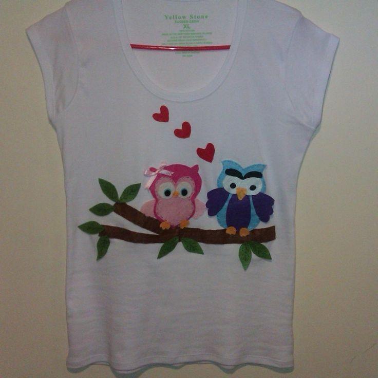 baykuşlu tişört