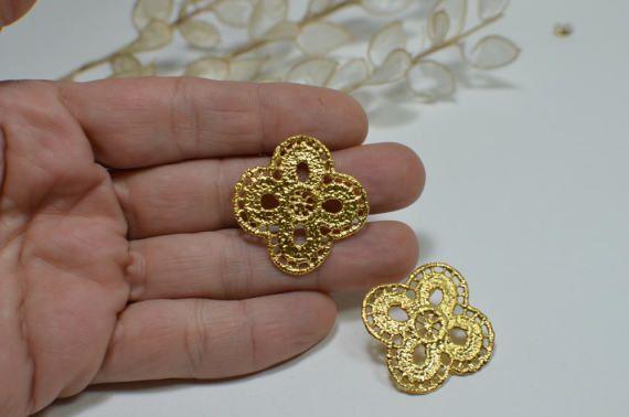 bold stud earrings gold post earrings rose gold stud by MyElesi
