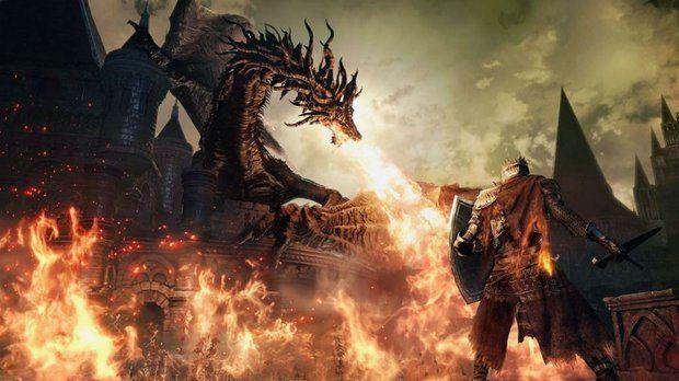 guardian dragon dark souls 2 wallpaper - Pesquisa Google