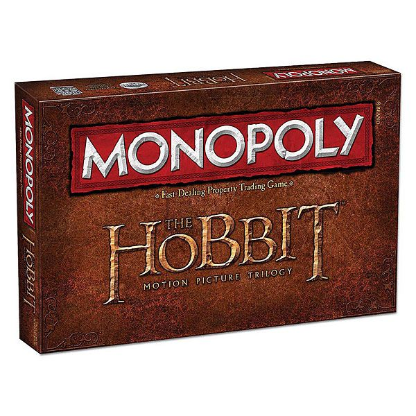(EDIT Sophie - I now have this!) The Hobbit Trilogy Monopoly | ThinkGeek