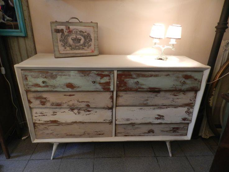 Decapado en mueble vintage la rescata patinas muebles - Muebles vintage sevilla ...