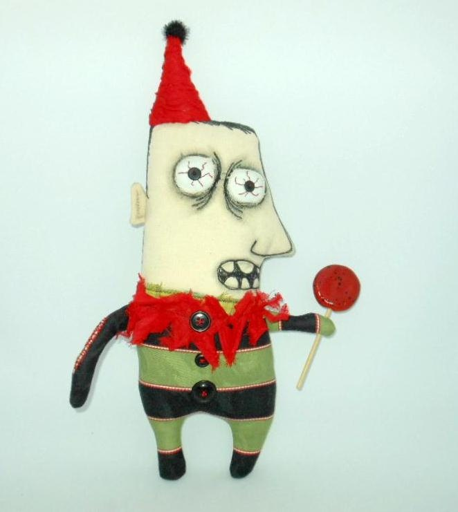 zombie craft ideas sugar doll 105 00 via etsy 3283