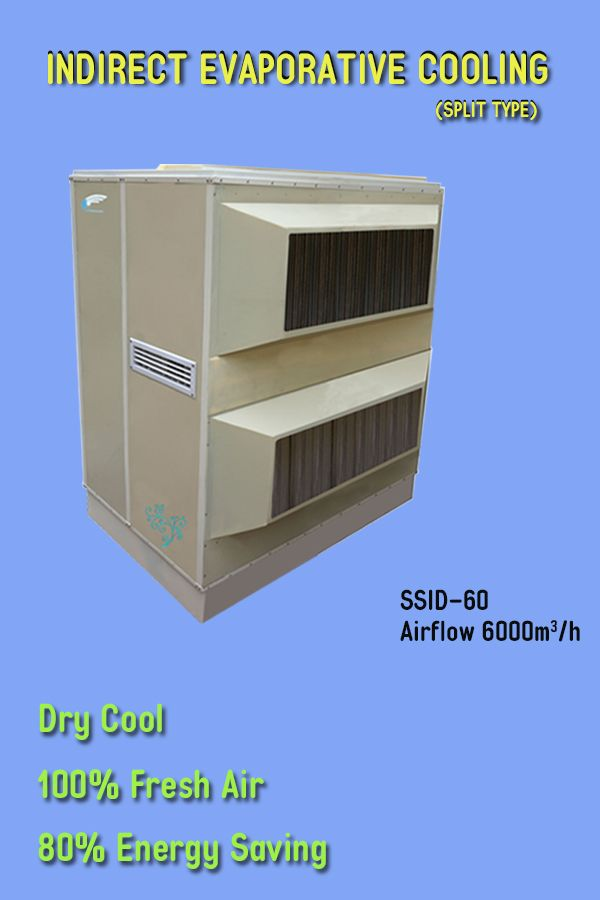 The New Samshui Indirect Evaporative Aircooling Model Ssid 60