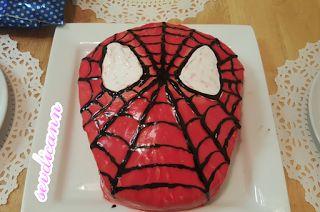 Sevdicann: Spiderman Pasta nasıl Yapılır Örümcek Adam Pastası...