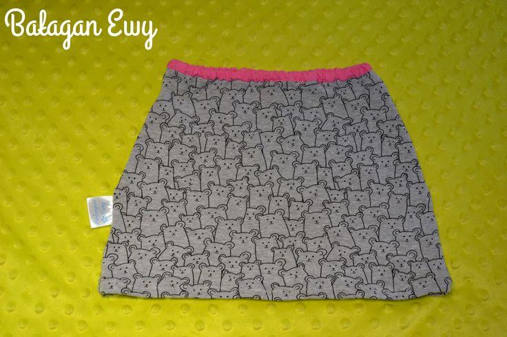 Spódniczka z dresówki / Skirt