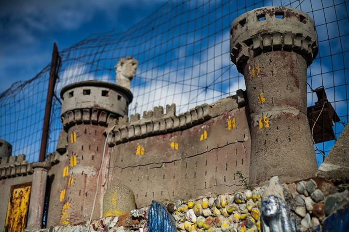 Casa Cammarata (Maregrosso) a Messina, particolare della facciata #invasionidigitali #siciliainvasa2014 #invadizancle