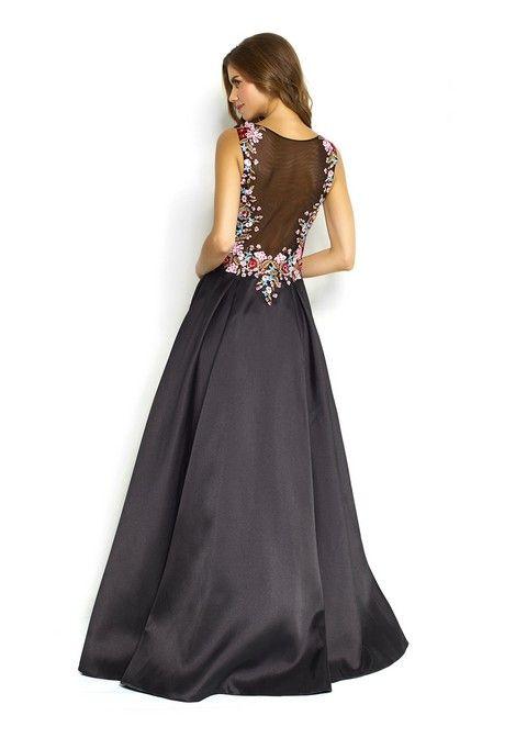 Spoločenské šaty Svadobný salón VAlery, šaty na ples, šaty na svadbu, šaty na stužkovú, luxusné šaty, čierne šaty, požičovňa šiat