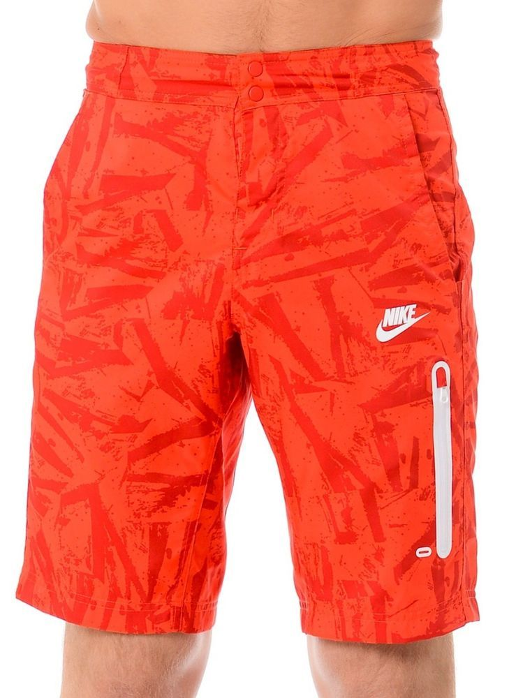 4c71dc3a30 NIKE Board Shorts Prodigy Summer Solstice Swim Trunks Casual Short Red 36  728695 #Nike #BoardShorts