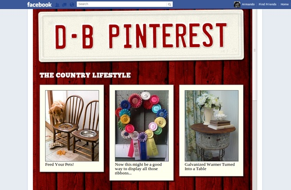 How to Place Pinterest Pins in a Facebook TabPinterest Pin, Places Pinterest