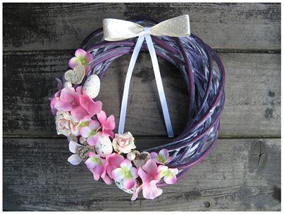 Wielkanocny wianek :) więcej na mojej stronie na fb (DecoupageGallery) zapraszam! :)
