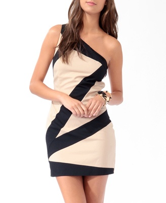 : Long Dresses, Evening Dresses, Colorblock Oneshould, Cocktails Dresses, Formal Dresses, Parties Dresses, Colorblock One Should, One Should Dresses, Bias Colorblock
