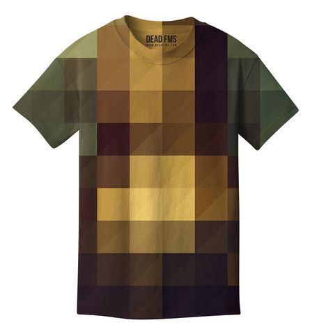 Pixel T-shirt. This makes my eyes go funny, but it's interesting!