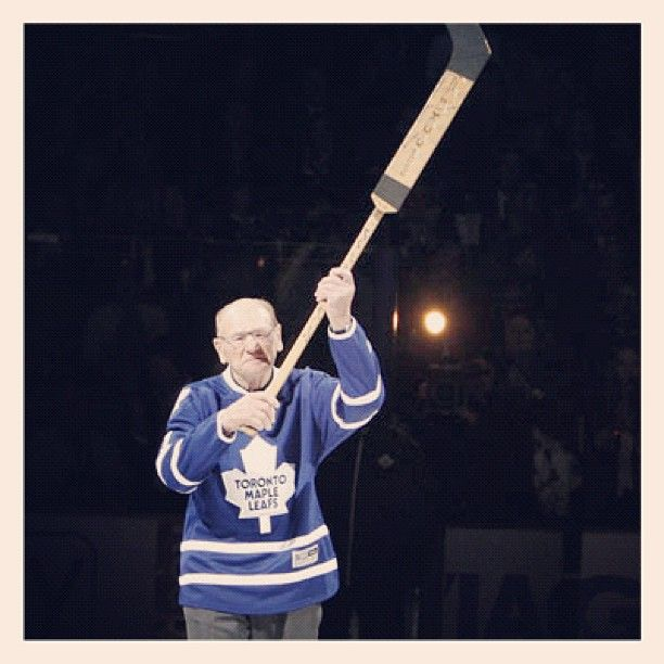 Happy Birthday to Leafs great Johnny Bower