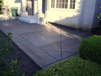 How to Build a Cement Patio   eHow.com
