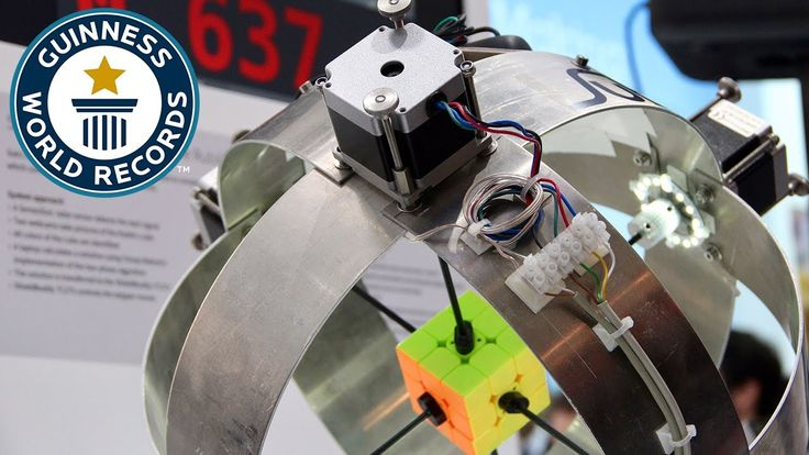 ❝ ASOMBROSO: ROBOT RESUELVE UN CUBO DE RUBIK EN FRACCIONES DE SEGUNDOS ❞ ↪ Vía: Entretenimiento y Noticias de Tecnología en proZesa