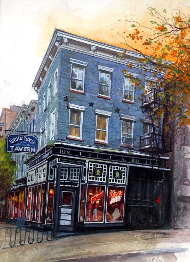 White Horse Tavern Exterior | Stephen Gardner