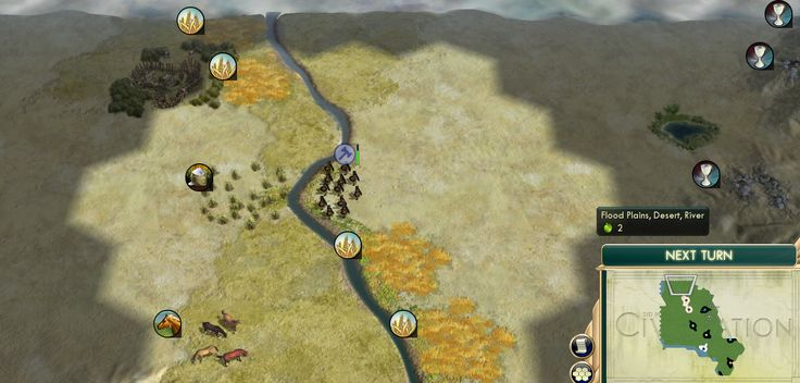 The civilization that manages to settle on this spot will be perfectly justified in taking the Theocracy and Mandate of Heaven social policies. #CivilizationBeyondEarth #gaming #Civilization #games #world #steam #SidMeier #RTS