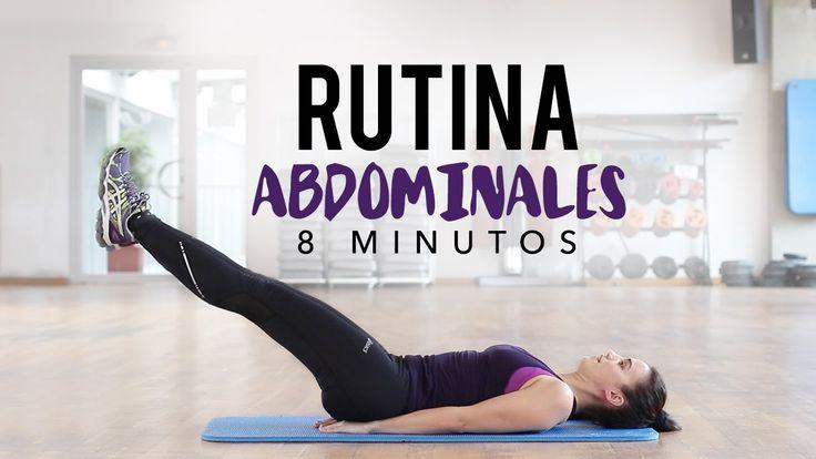 Abdomen definido en 8 minutos | Rutina de abdominales