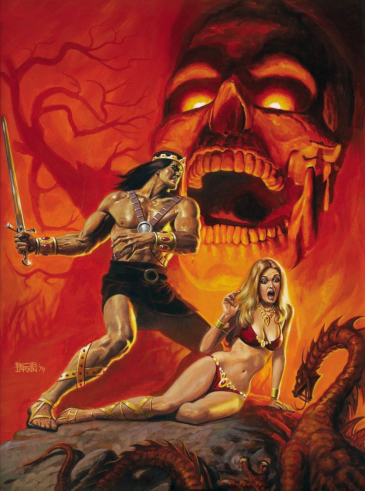 Bob Larkin kull the destroyer #19 cover, 1979
