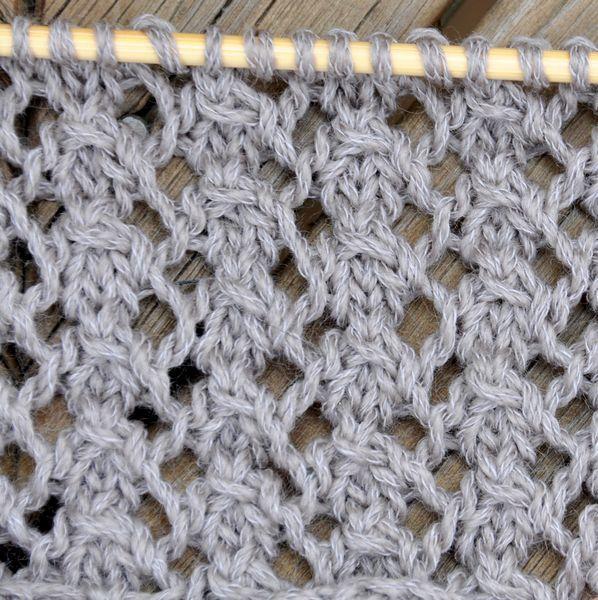 Rose Lace Knitting Pattern Free : Knitting Dog Rose Stitch. Free pattern. Knitting - lace ...
