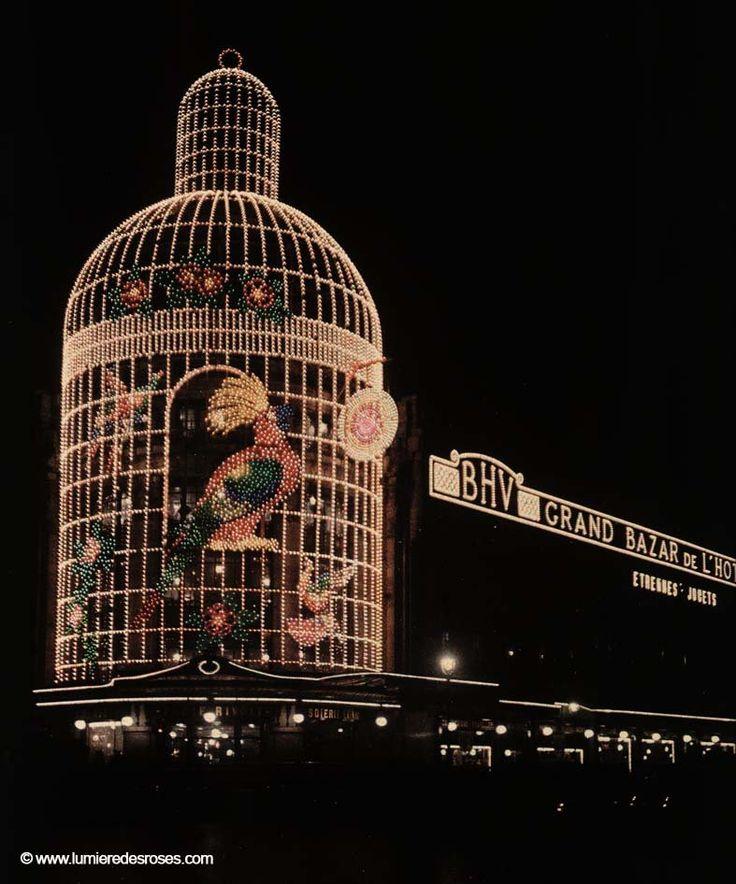 Les autochromes parisiens de Léon Gimpel leon gimpel illumination noel paris magasin 08 photo histoire featured art