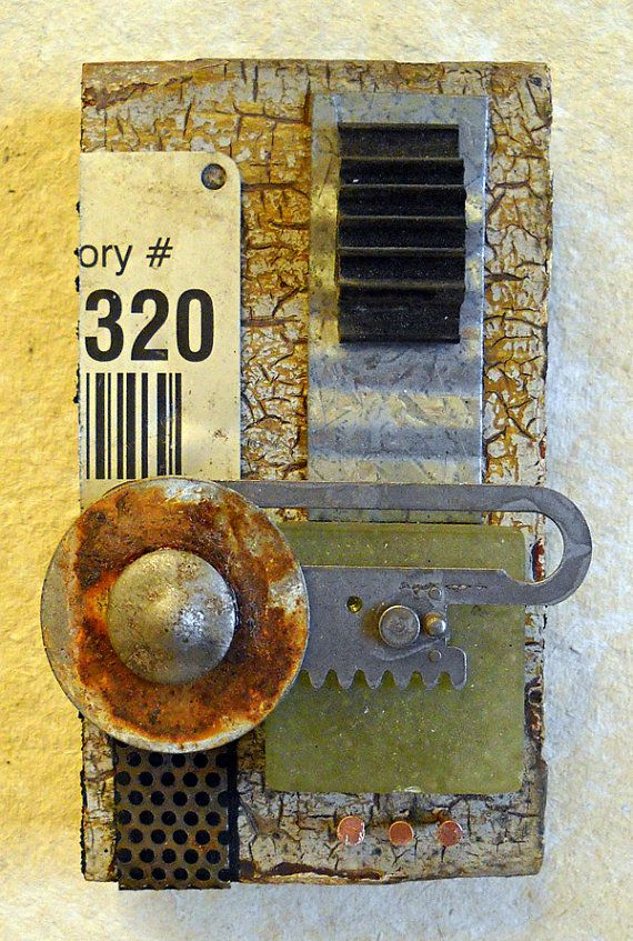 Artifact I found object assemblage by tristanfrancis on Etsy, $200.00