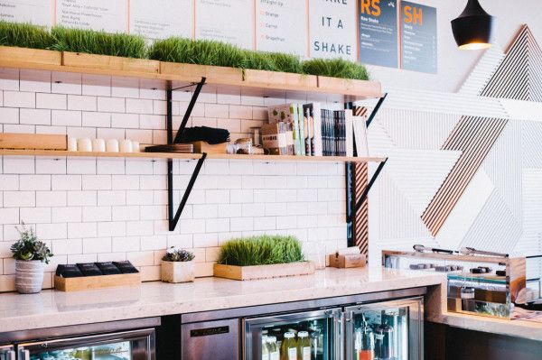 A Modern Juice Bar Designed by Bells & Whistles Photo
