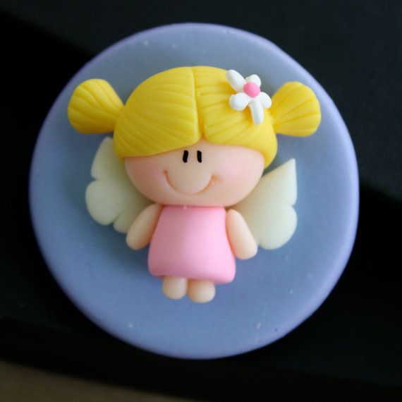 Angel Baptism First Communion Party Favor Refrigerator by gavo, $10.00