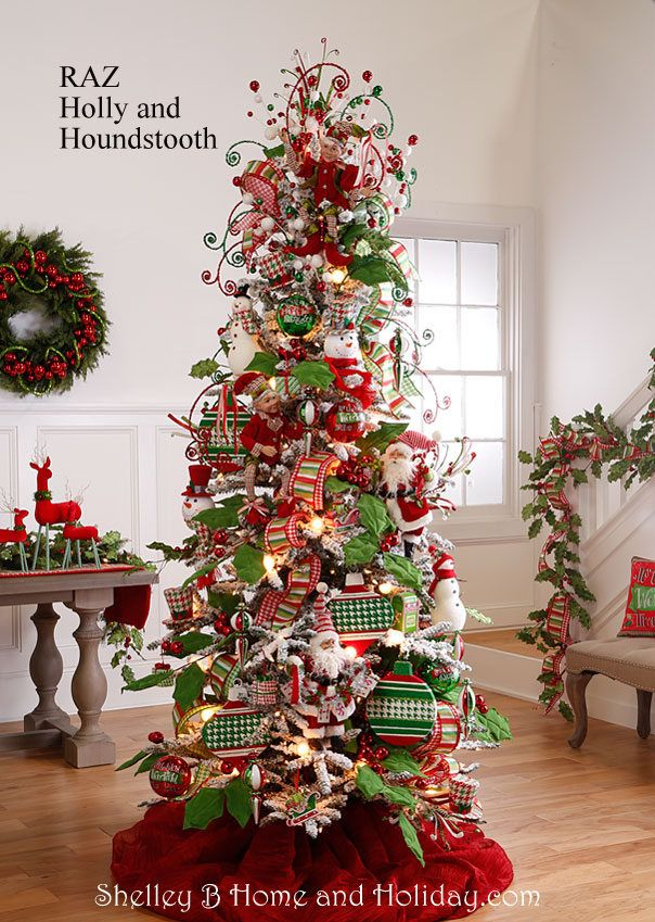 the 2016 raz christmas tree images are ready for viewing the raz designers do such a wonderful job of decorating trees each year and - At Home Store Christmas Decorations