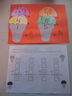 Great visual and hands on Math project for homeschooled kids. My autistic daughter loved this project. 1st grade math activity.
