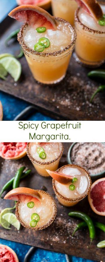 Spicy Grapefruit Margarita | halfbakedharvest.com @hbharvest