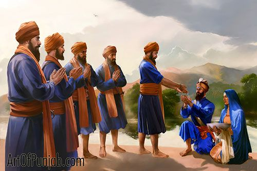 Guru Gobind Singh - Master and Disciple